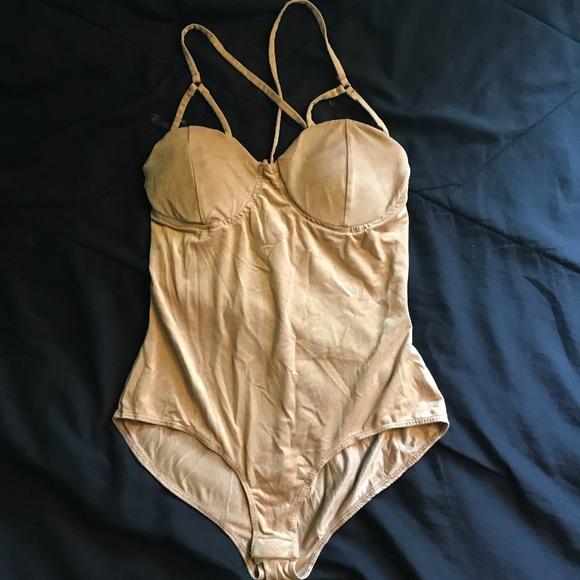 Charlotte Russe Tops - Nude bodysuit